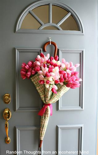 April Showers Wreath