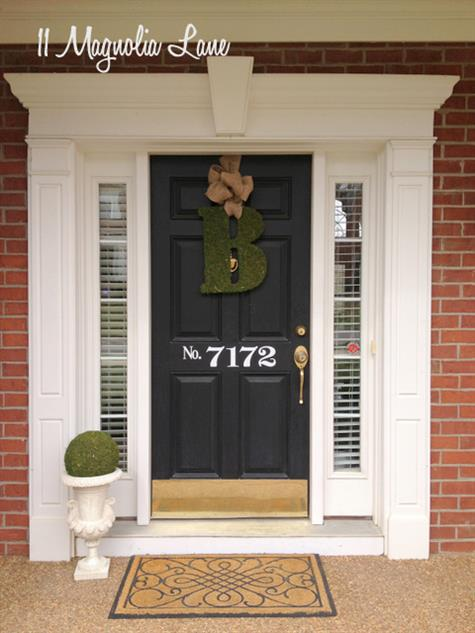 framing your door adds curb appeal