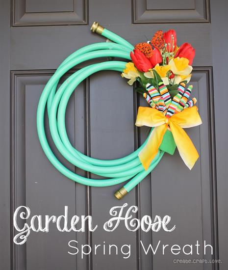 Garden House Wreath