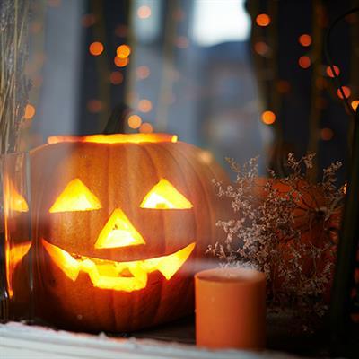 Pumpkin in the Window