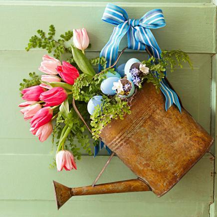 Rustic Bloom Wreath