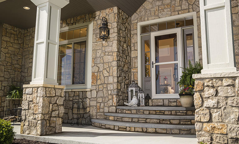 Get Inspired. & Retractable Screen Security u0026 Storm Doors | LARSON Storm Doors