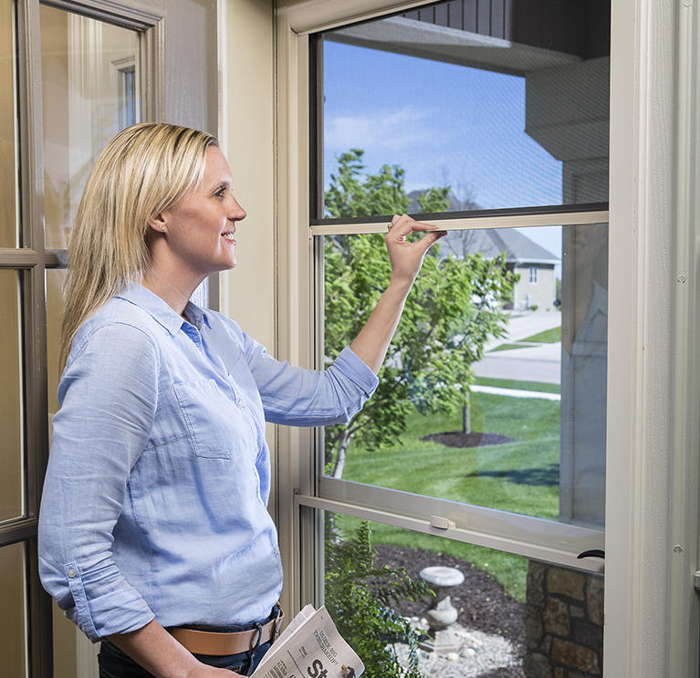 Welcome In The Breeze. Let In The Breeze Instantly With Retractable Screen  Away® Doors.