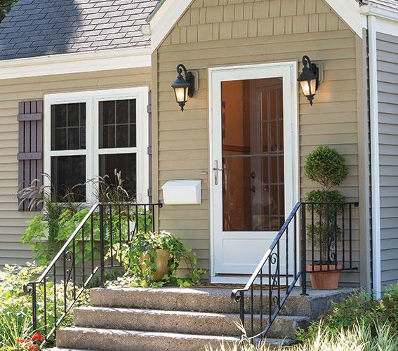 Larson manufacturing news for Scenix porch windows