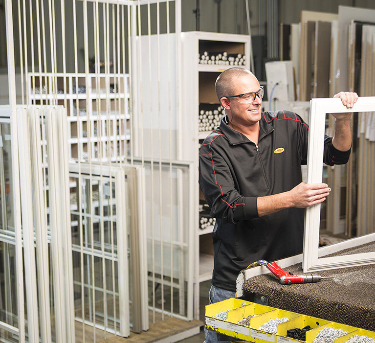 Larson Storm Doors are American Made