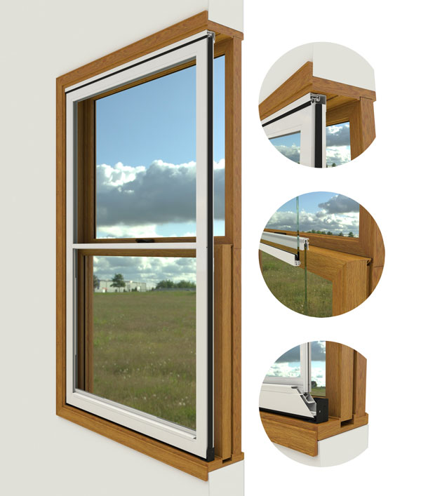 Comfortseal Interior Storm Windows