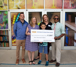 Back To School Winner 2019 Check Presentation