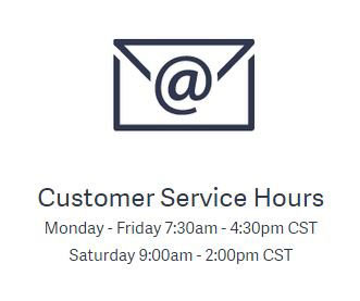 Customer Service Hours