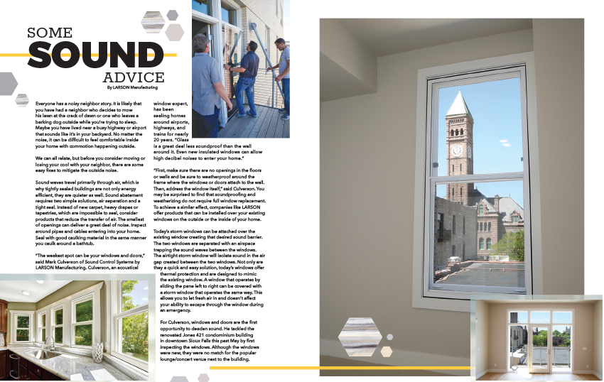 Comfortseal Windows Featured In Home Ideas Magazine