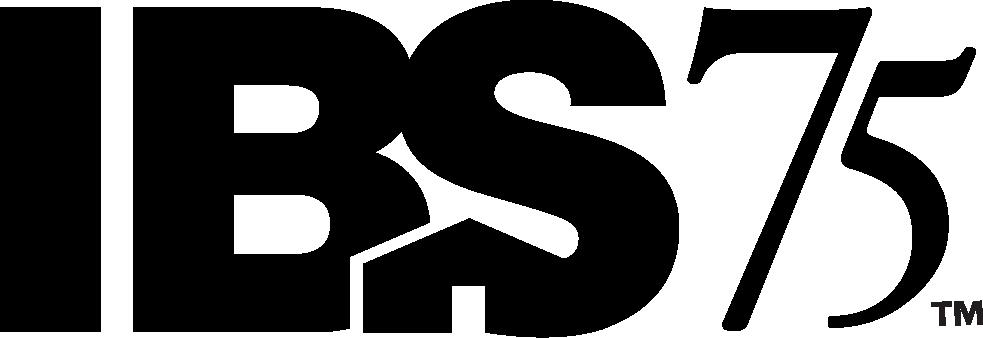 IBS 75th Logo Black