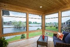 Larson Launches Scenix 174 Porch Windows With Retractable Screens