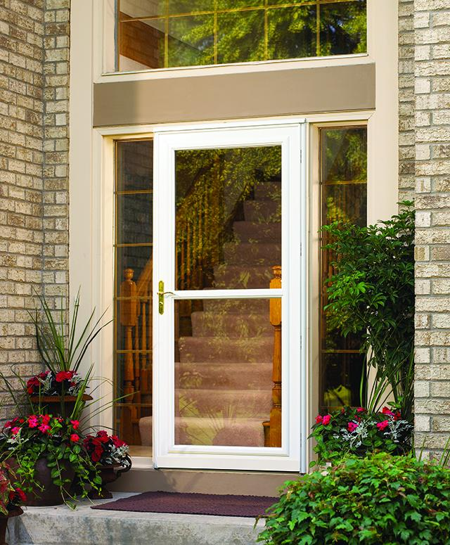 Full Glass Storm Door with Easiest ventilation